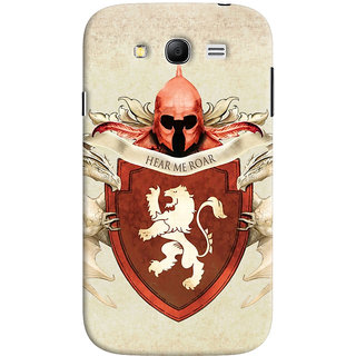 Oyehoye Samsung Galaxy Grand Neo Plus Mobile Phone Back Cover With Game Of Thrones - Durable Matte Finish Hard Plastic Slim Case