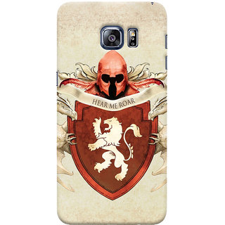 Oyehoye Samsung Galaxy S6 Edge Plus Mobile Phone Back Cover With Game Of Thrones - Durable Matte Finish Hard Plastic Slim Case