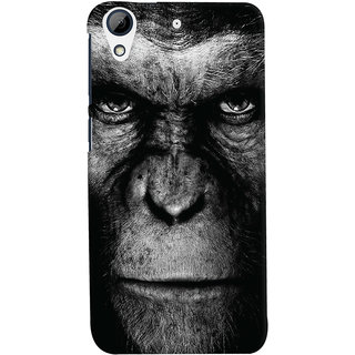 Oyehoye HTC Desire 728 / 728G / Dual Sim Mobile Phone Back Cover With Gorilla - Durable Matte Finish Hard Plastic Slim Case
