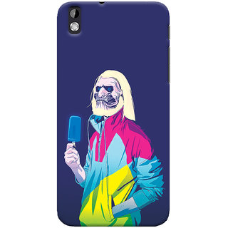 Oyehoye HTC Desire 816 / 816G Dual Sim Mobile Phone Back Cover With Game Of Thrones Quirky - Durable Matte Finish Hard Plastic Slim Case