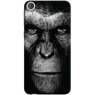 Oyehoye HTC Desire 820 Dual Sim Mobile Phone Back Cover With Gorilla - Durable Matte Finish Hard Plastic Slim Case