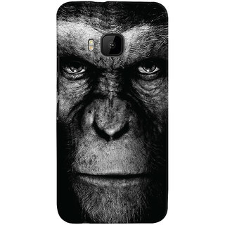 Oyehoye HTC One M9 Mobile Phone Back Cover With Gorilla - Durable Matte Finish Hard Plastic Slim Case