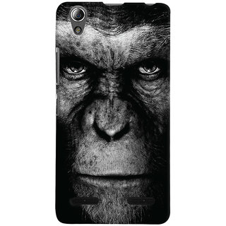 Oyehoye Lenovo A6000 Plus Mobile Phone Back Cover With Gorilla - Durable Matte Finish Hard Plastic Slim Case
