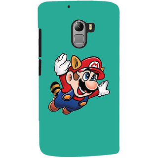 Oyehoye Lenovo K4 Note Mobile Phone Back Cover With Super Mario - Durable Matte Finish Hard Plastic Slim Case