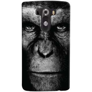 Oyehoye LG G3/ Optimus G3 Mobile Phone Back Cover With Gorilla - Durable Matte Finish Hard Plastic Slim Case