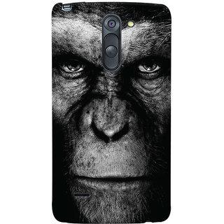 Oyehoye LG G3 Stylus / Optimus G3 Stylus Mobile Phone Back Cover With Gorilla - Durable Matte Finish Hard Plastic Slim Case