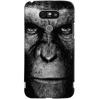 Oyehoye LG G5 / Optimus G5 Mobile Phone Back Cover With Gorilla - Durable Matte Finish Hard Plastic Slim Case
