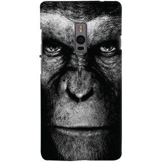 Oyehoye OnePlus 2 Mobile Phone Back Cover With Gorilla - Durable Matte Finish Hard Plastic Slim Case