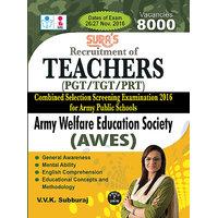Army Welfare Education Society (AWES)Teachers PGT / TGT / PRT Exam Books