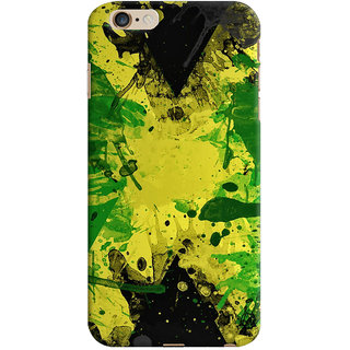 Oyehoye Apple iPhone 6 Plus Mobile Phone Back Cover With Colourful Art - Durable Matte Finish Hard Plastic Slim Case