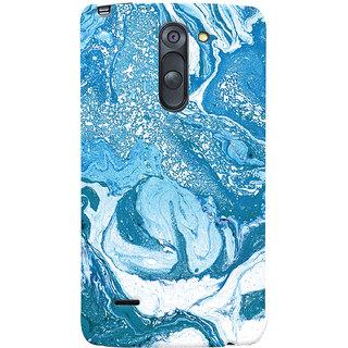 Oyehoye LG G3 Stylus / Optimus G3 Stylus Mobile Phone Back Cover With Abstract Art - Durable Matte Finish Hard Plastic Slim Case