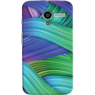 Oyehoye Motorola Moto X Mobile Phone Back Cover With Abstract Art - Durable Matte Finish Hard Plastic Slim Case