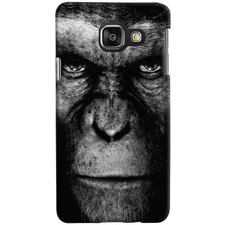 Oyehoye Samsung Galaxy A3 A310 (2016 Edition) Mobile Phone Back Cover With Gorilla - Durable Matte Finish Hard Plastic Slim Case