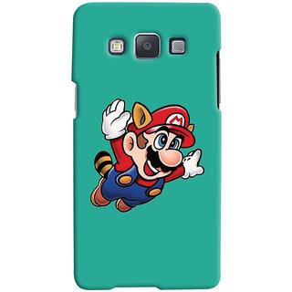 Oyehoye Samsung Galaxy E5 Mobile Phone Back Cover With Super Mario - Durable Matte Finish Hard Plastic Slim Case