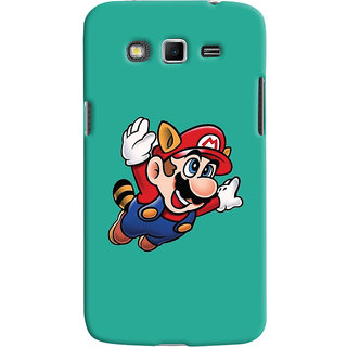 Oyehoye Samsung Galaxy Grand 2 G7106 Mobile Phone Back Cover With Super Mario - Durable Matte Finish Hard Plastic Slim Case