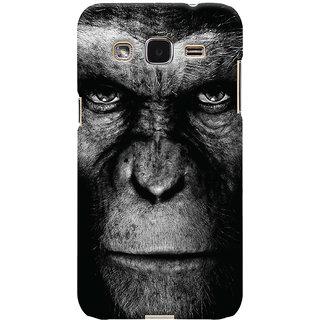 Oyehoye Samsung Galaxy J2 Mobile Phone Back Cover With Gorilla - Durable Matte Finish Hard Plastic Slim Case