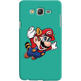 Oyehoye Samsung Galaxy ON5 Mobile Phone Back Cover With Super Mario - Durable Matte Finish Hard Plastic Slim Case