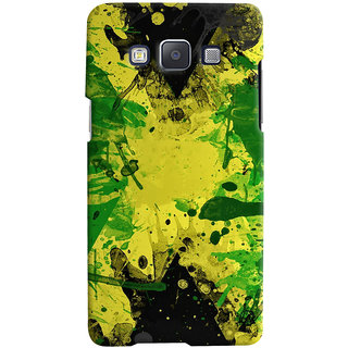 Oyehoye Samsung Galaxy E5 Mobile Phone Back Cover With Colourful Art - Durable Matte Finish Hard Plastic Slim Case