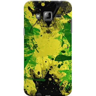 Oyehoye Samsung Galaxy J3 Mobile Phone Back Cover With Colourful Art - Durable Matte Finish Hard Plastic Slim Case