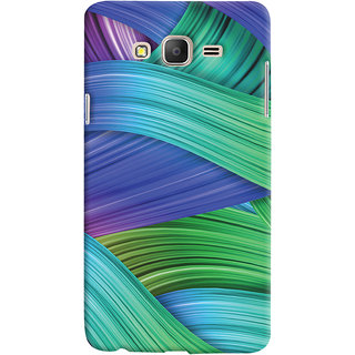 Oyehoye Samsung Galaxy ON5 Mobile Phone Back Cover With Abstract Art - Durable Matte Finish Hard Plastic Slim Case