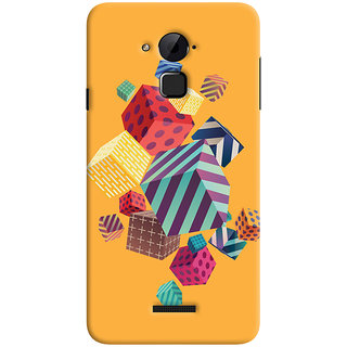 Oyehoye Coolpad Note 3 Lite Mobile Phone Back Cover With Abstract Style Modern Art - Durable Matte Finish Hard Plastic Slim Case