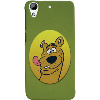 Oyehoye HTC Desire 626 / 626 G Plus Mobile Phone Back Cover With Scooby Doo - Durable Matte Finish Hard Plastic Slim Case