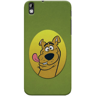 Oyehoye HTC Desire 816 / 816G Dual Sim Mobile Phone Back Cover With Scooby Doo - Durable Matte Finish Hard Plastic Slim Case