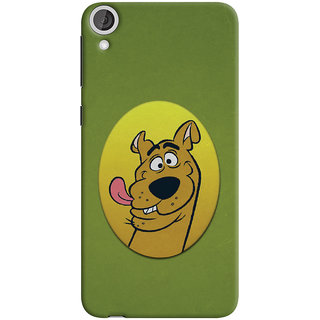 Oyehoye HTC Desire 820 Mobile Phone Back Cover With Scooby Doo - Durable Matte Finish Hard Plastic Slim Case