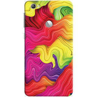 Oyehoye LeEco LE1S Mobile Phone Back Cover With Colourful Pattern Style - Durable Matte Finish Hard Plastic Slim Case