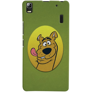 Oyehoye Lenovo A7000 Mobile Phone Back Cover With Scooby Doo - Durable Matte Finish Hard Plastic Slim Case