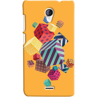 Oyehoye Micromax Unite 2 A106 Mobile Phone Back Cover With Abstract Style Modern Art - Durable Matte Finish Hard Plastic Slim Case