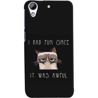 Oyehoye HTC Desire 728 / 728G / Dual Sim Mobile Phone Back Cover With Quirky Style - Durable Matte Finish Hard Plastic Slim Case