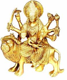 Durga ji brass stachu murti