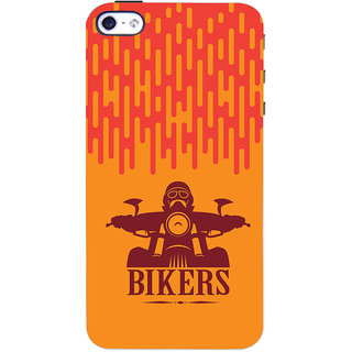 Oyehoye   4 Mobile Phone Back Cover With Bikers Style - Durable Matte Finish Hard Plastic Slim Case