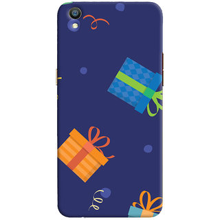Oyehoye Oppo F1 Plus Mobile Phone Back Cover With Gift Pattern Style - Durable Matte Finish Hard Plastic Slim Case