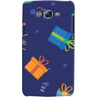 Oyehoye Samsung Galaxy J7 Mobile Phone Back Cover With Gift Pattern Style - Durable Matte Finish Hard Plastic Slim Case