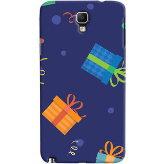 Oyehoye Galaxy Note 3 Neo Mobile Phone Back Cover With Gift Pattern Style - Durable Matte Finish Hard Plastic Slim Case