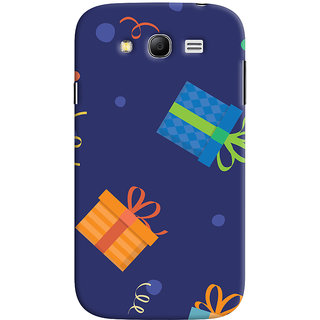 Oyehoye Samsung Galaxy Grand Neo Plus Mobile Phone Back Cover With Gift Pattern Style - Durable Matte Finish Hard Plastic Slim Case