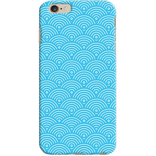 Oyehoye   6 Plus Mobile Phone Back Cover With Pattern Style - Durable Matte Finish Hard Plastic Slim Case