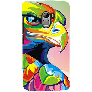 Oyehoye Lenovo K4 Note Mobile Phone Back Cover With Animal Art - Durable Matte Finish Hard Plastic Slim Case