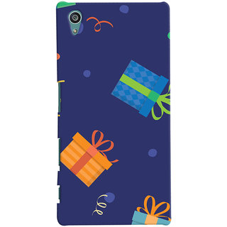Oyehoye Sony Xperia Z5 Mobile Phone Back Cover With Gift Pattern Style - Durable Matte Finish Hard Plastic Slim Case