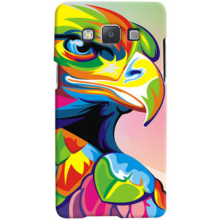Oyehoye Samsung Galaxy A5 (2015) Mobile Phone Back Cover With Animal Art - Durable Matte Finish Hard Plastic Slim Case