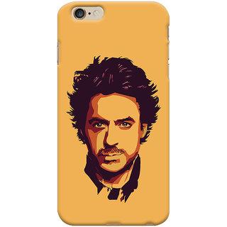 Oyehoye Apple iPhone 6S Plus Mobile Phone Back Cover With Robert Downey Jr. - Durable Matte Finish Hard Plastic Slim Case