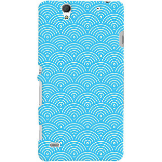 Oyehoye Sony Xperia C4 / Dual Sim Mobile Phone Back Cover With Pattern Style - Durable Matte Finish Hard Plastic Slim Case
