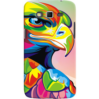 Oyehoye Samsung Galaxy Grand 2 G7106 Mobile Phone Back Cover With Animal Art - Durable Matte Finish Hard Plastic Slim Case