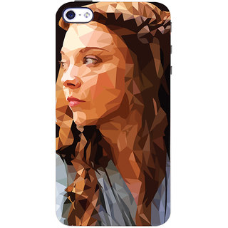 Oyehoye Apple iPhone 4S Mobile Phone Back Cover With Low Poly Art - Durable Matte Finish Hard Plastic Slim Case