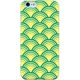 Oyehoye New Apple iPhone 6 Mobile Phone Back Cover With Pattern Style - Durable Matte Finish Hard Plastic Slim Case