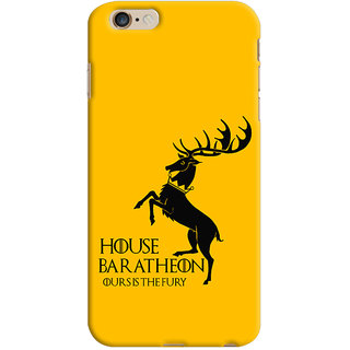 Oyehoye Apple iPhone 6 Plus Mobile Phone Back Cover With Game Of Thrones - Durable Matte Finish Hard Plastic Slim Case