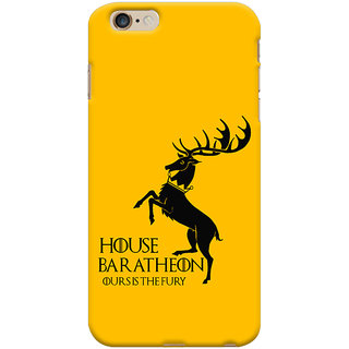 Oyehoye Apple iPhone 6S Plus Mobile Phone Back Cover With Game Of Thrones - Durable Matte Finish Hard Plastic Slim Case