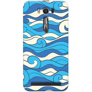 Oyehoye Asus Zenfone 2 Laser ZE500KL Mobile Phone Back Cover With Pattern Style - Durable Matte Finish Hard Plastic Slim Case
